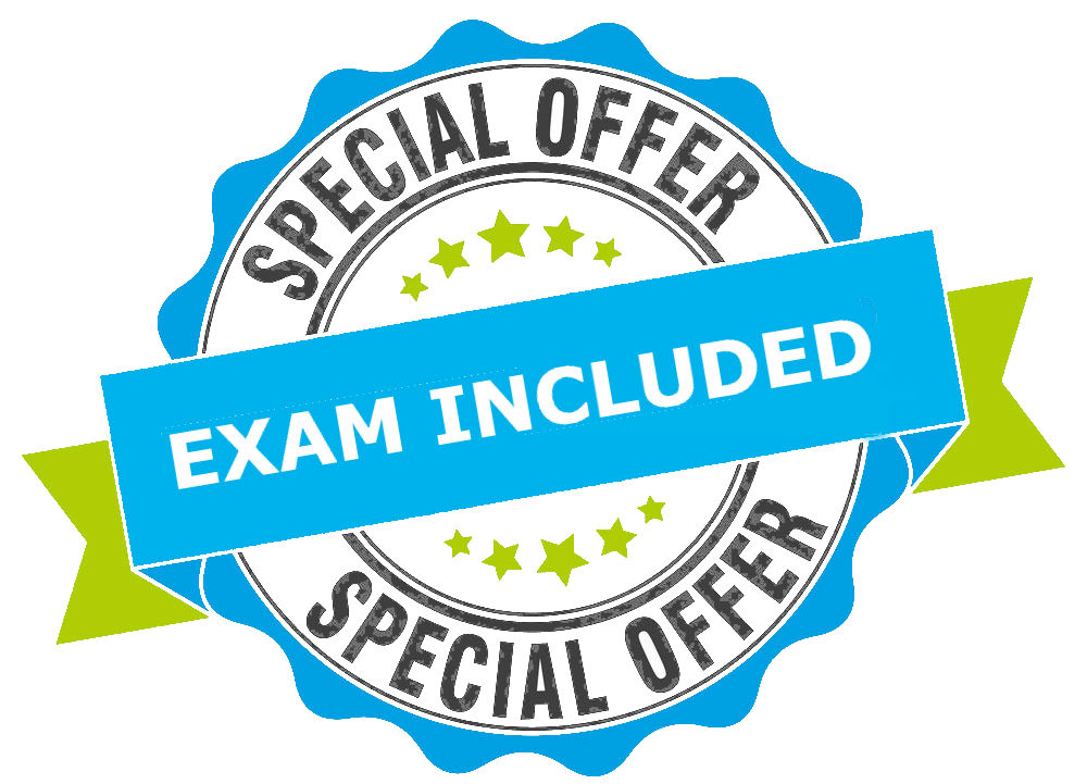 Special offer Exams included