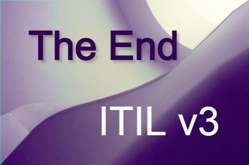 The End of ITIL v3